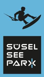 Süsel Seeparx Logo und Signet Wakeboarder hochkant