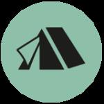 Süsel Seeparx - Menue Icon Camping Platz - Zelt