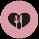 Süsel Seeparx - Menue Icon Gastronomie - Messer und Gabel