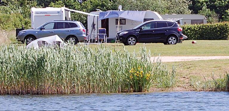 Süsel Seeparx - Camper und Zelte direkt am See auf dem Camping Platz