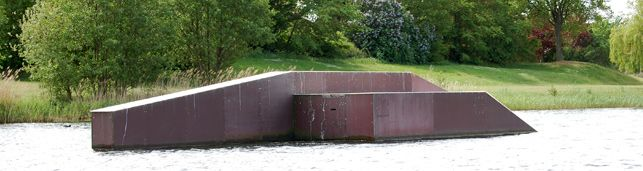 Süsel Seeparx Features Wakeboard Park - Fun Box