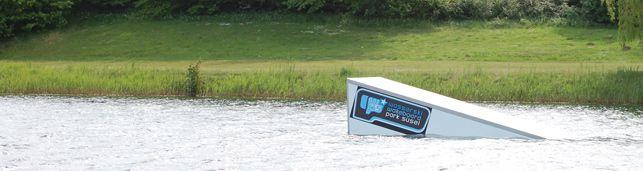 Süsel Seeparx Features Wakeboard Park - Kicker groß links