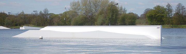 Süsel Seeparx Features Wakeboard Park - Butter-Rail